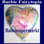 Luftballon Barbie Fairytopia, Folienballon mit Ballongas (FHGE Barbie-Fairytopia-Luftballon-6887)