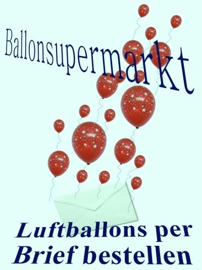 Luftballons per Brief bestellen