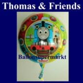 Luftballon Thomas and Friends, Folienballon mit Ballongas (FHGE Thomas-Friends-Ballon-66963)