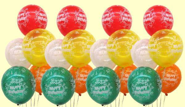 Luftballons geburtstag for Dekoration mit luftballons