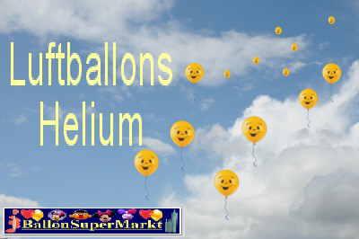 Helium-Luftballons-Luftballons-Himmel