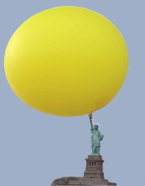 Riesenluftballons Riesenerfolg