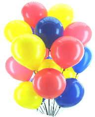 Karneval und Fasching mit Luftballons