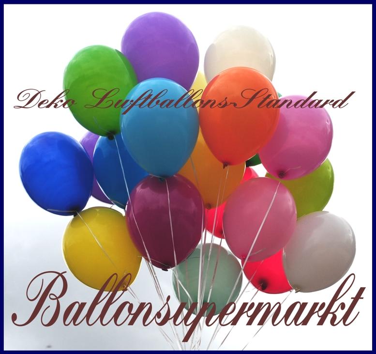 Deko Luftballons Standard