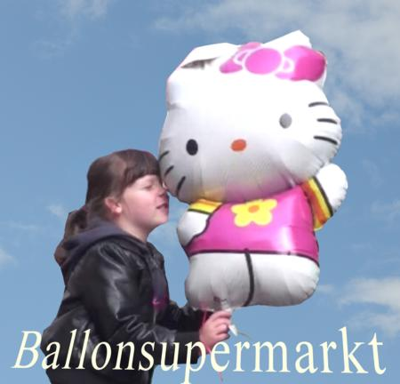 Kinder Luftballons Hello Kitty