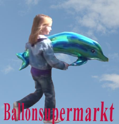 Kinder Luftballons, Delfin-Luftballons