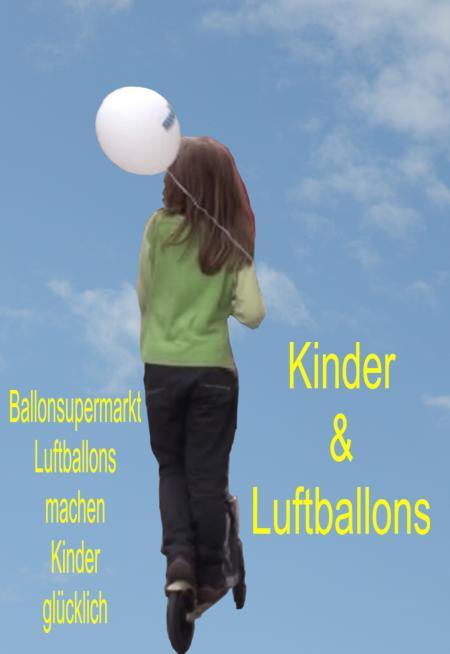 Kinder und Luftballons